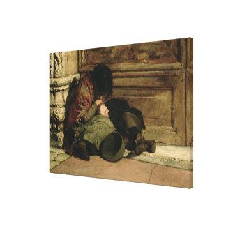 Övergett 1903 canvastryck