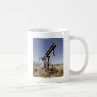 Övergett mala kaffemugg