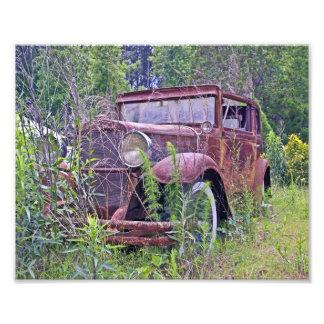 Övergiven bil foton