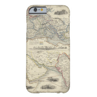 Overland rutt till Indien Barely There iPhone 6 Fodral