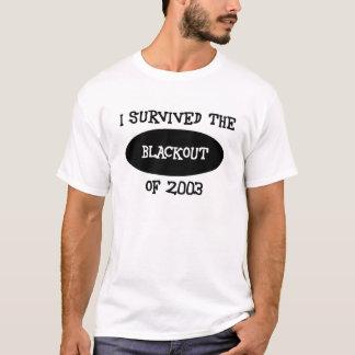 överlevande av blackouten! tröjor