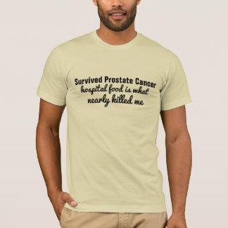överlevd mat för sjukhus för prostatacancer t-shirt