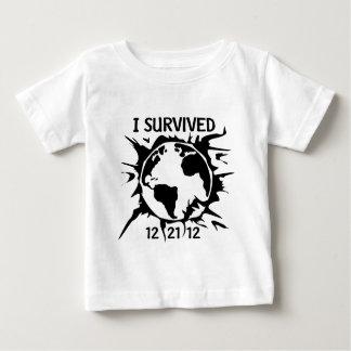 """""""Överlevde jag 12-21-12"""" avslutar av världen T-shirt"""