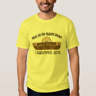 """Överlevde jag 2012"" T-tröja Tee Shirt"