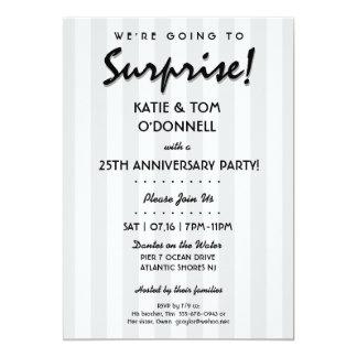 ÖVERRRAKNING! 30th eller någon årsdagpartyinbjudan 12,7 X 17,8 Cm Inbjudningskort