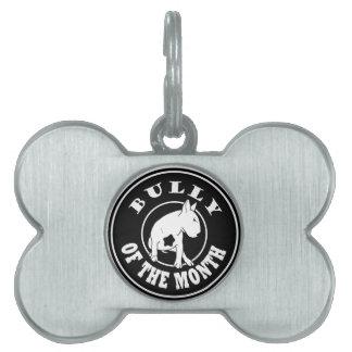 Översittare av månadöversittaremärkren ID-bricka husdjur
