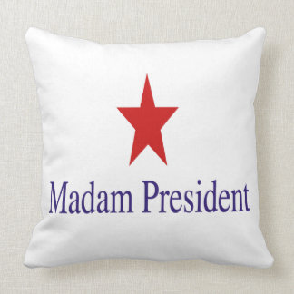 Översittarepresident dekorativ kudde