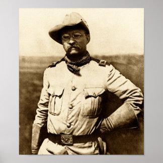 Överste Theodore Roosevelt Poster