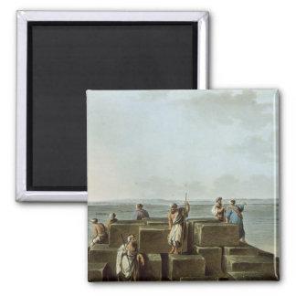 Överträffa av den första pyramiden av Gizah, pläte Magnet