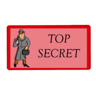 Överträffa - hemligheten med spion fraktsedel