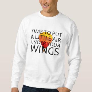 ÖVERTRÄFFA luft under din vingar Långärmad Tröja