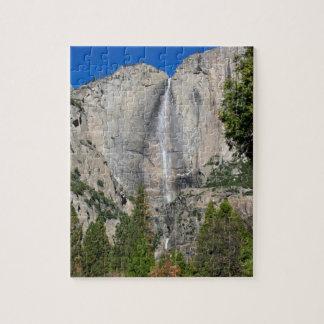 ÖvreYosemite Falls i November Pussel