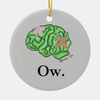 """""""Ow"""" prydnad Julgransprydnad Keramik"""