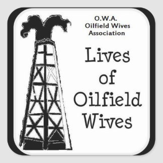 OWA-klistermärkear Fyrkantigt Klistermärke