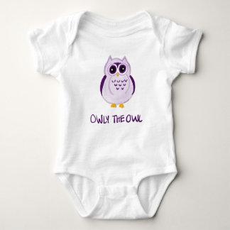 Owly ugglan - babyBodysuit Tee