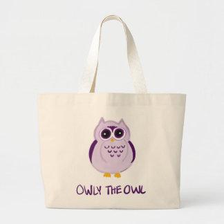 Owly ugglatotot hänger lös - Keiki Aloha Jumbo Tygkasse