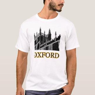 Oxford England som bygger spiraler, svärtar T Shirt