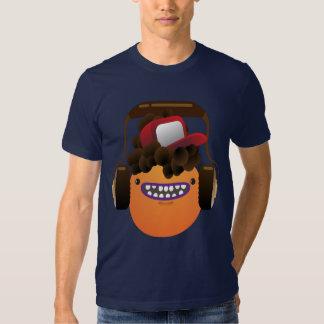 Oxygentees kall MashUp DudeT-tröja med headphonen Tröja