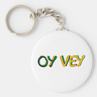 Oy Vey Rund Nyckelring