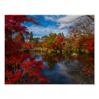 Ozarks japanträdgård poster