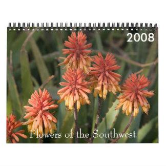 P4079331-LR-1 blommor av southwesten, 2008 Kalender