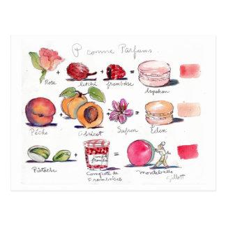 P-comme Parfum Macaron Vykort