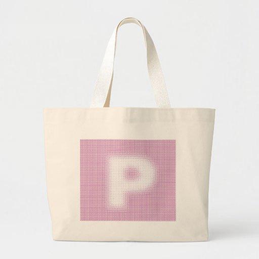 P-Monogram Tote Bag