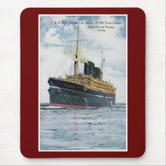 P&O S.S. Viceroy av Indien - vintage resoraffisch Mus Mattor
