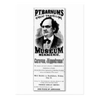 P.T. Barnums underbar resande museumMenagerie Vykort