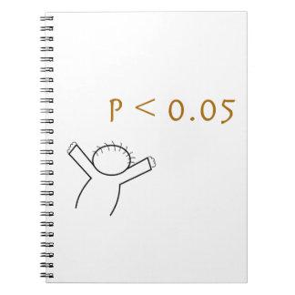 P-värdera anteckningsboken för statisticians anteckningsbok