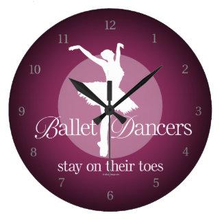 På deras Toes (balett) Stor Klocka
