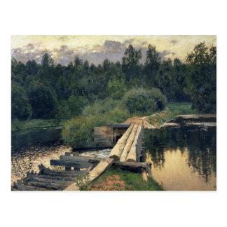 På det grunt 1892 vykort