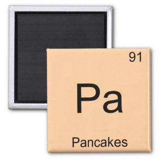 Pa - För kemiinslag för pannkakor rolig Magnet