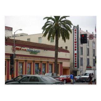 På gatorna av Hollywood Vykort