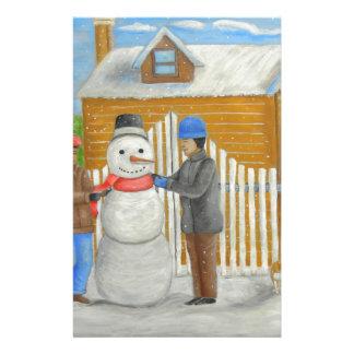 På juldag brevpapper