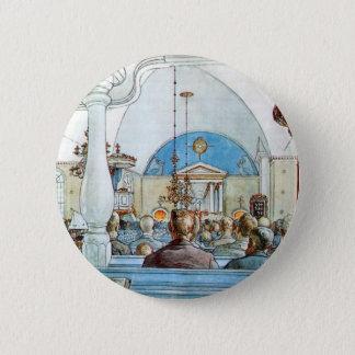 På kyrkan circa 1905 standard knapp rund 5.7 cm