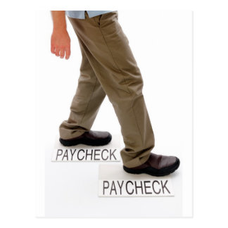 På mitt långt till paydayen vykort