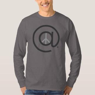 På muff manar för fred Long skjorta Tee Shirt