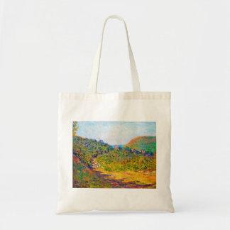 På petit-Dalles 1884 Claude Monet coola som är gam Tote Bags