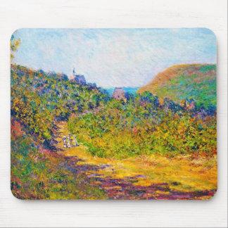 På petit-Dalles 1884 Claude Monet coola som är gam Musmattor