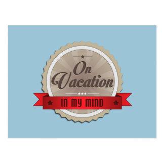 På semester i mitt vara besvärad vykort