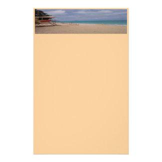 På strandbrevpapperet brevpapper