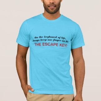På tangentbord av liv, t shirts