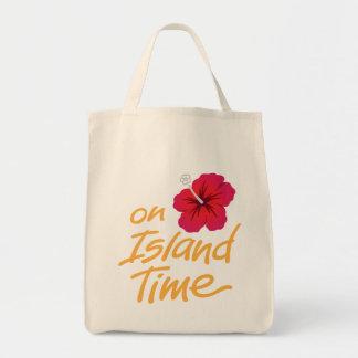 På toto för öTime souvenir med hibiskus Mat Tygkasse