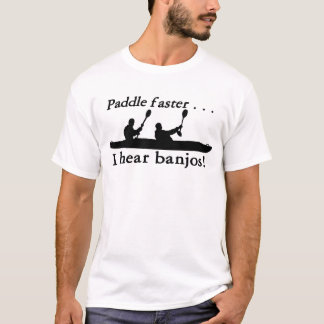 Paddla snabbare #1 tröjor