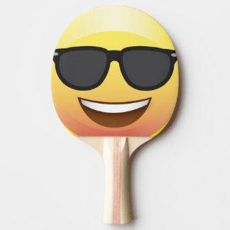 Paddlar den roliga Emoji för Pingisracket