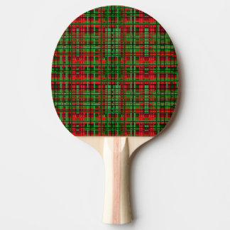 Paddlar rosa pong för jul pingisracket