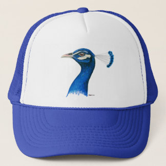 Påfågel:  Indiska blått Keps