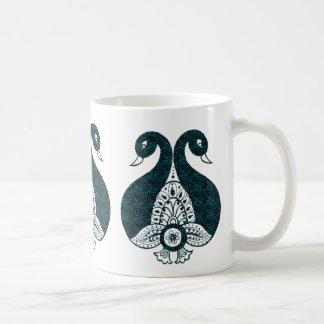 Påfågel Kaffemugg