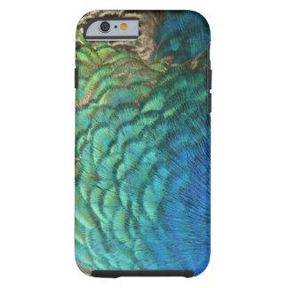 Påfågelfjäderdesign Tough iPhone 6 Case